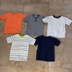 Boys Gymboree shirt lot size 5T